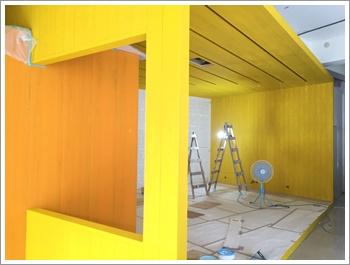 牆面油漆工程